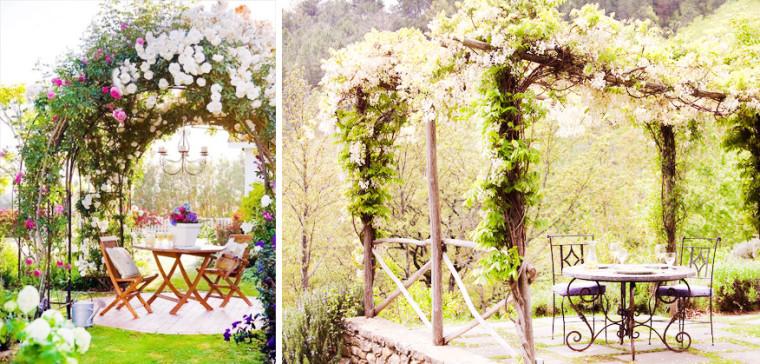 лианы для декорирования садовых беседок