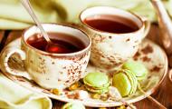Чай в рационе беременной