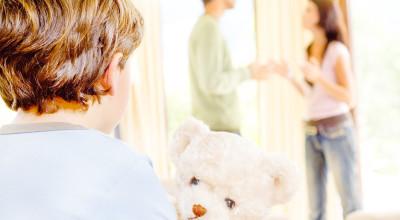 Как говорить с ребенком о разводе?