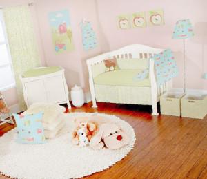 оборудование комнаты для младенца