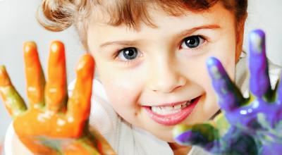 Рисование руками и пальчиковые краски