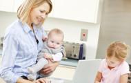 Правила для мам, работающих дома