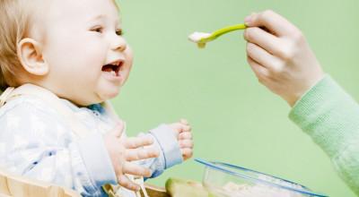 Лучшая первая еда для ребенка