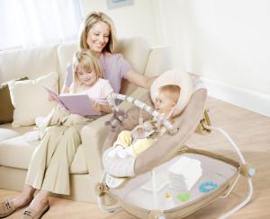 удерживающие качели для младенцев