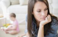 Мама в депрессии и как выйти из этого состояния
